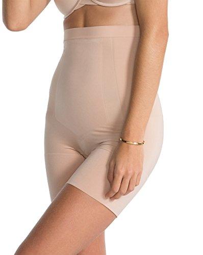 spanx-womens-oncore-high-wasited-mid-thigh-shorts-in-soft-nude-size-medium-ss1915