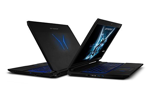 Medion Erazer X7853 MD 60603 439 cm 173 Zoll mattes 100 % HD present Gaming Notebook Intel central i7 7700HQ 16GB DDR4 RAM 1TB HDD 256GB SSD Nvidia GeForce GTX 1070 8GB GDDR5 Win 10 family home schwarz Notebooks