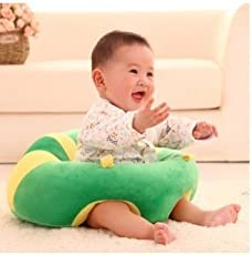 Okayji Cotton Baby Support Sitting Cushion Chair (Green)