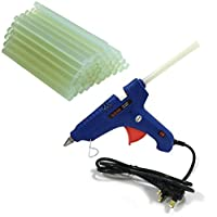 Silicone glue gun with 1 kg Glue gun bag - blue, HL-8-60W
