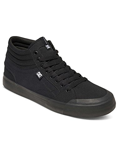 DC Shoes  Evan Smith Hi, Espadrilles Homme Noir - Black/Black/Gum