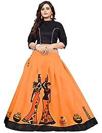 ab18d00b9b6 Amazon.in  Oranges - Lehenga Cholis   Ethnic Wear  Clothing ...