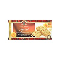 Campbells Apricot with White Chocolate Scottish Pure Butter Cookies