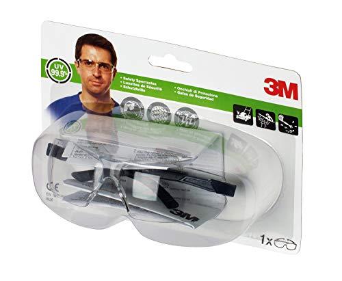 3M 2820C1 - Gafas de seguridad protección impactos, transparente