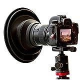 Original ULHgo Ultimate Lens Hood - Gegenlichtblende - Objektivhaube - DSLR Kamera Objektiv Anti Reflex Kamera Zubehör - Faltbarer Objektivschutz aus Gummi - Passt auf 49 mm - 82 mm Filtergewinde