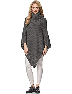 Merry Style Poncho para Mujer MS