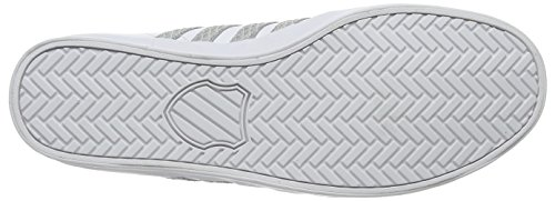 K-Swiss Belmont So, Sneakers basses homme Blanc - White (White/Highrise)
