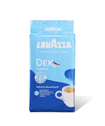 10x LAVAZZA DEK Entkoffeiniert Kaffee 250g gemahlen Italienisch espresso coffee