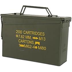 Boîte munitions US M19A1 Cal. 30 mm Import kaki