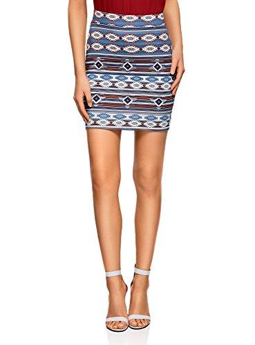 oodji Ultra Women's Basic Jersey Skirt