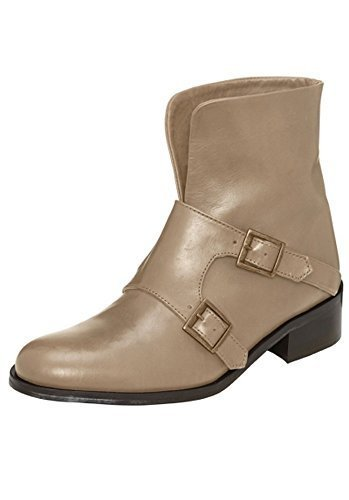 Stiefelette Damen aus Rindleder von Best Connections Taupe
