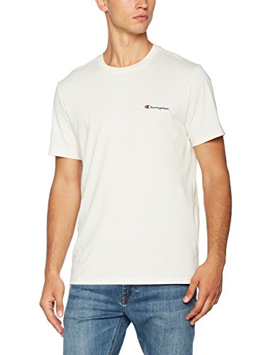 Champion Herren Crewneck T-Shirt-Institutionals, Weiß (Vapy), X-Large (Weißen Champion T-shirt)