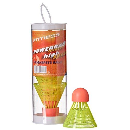 Best Sport Speed Badminton Ball–Mehrfarbig, mittel