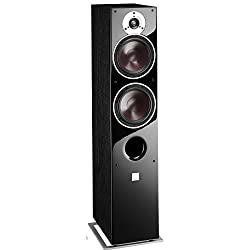 DALI ZENSOR 7 Powerful Floor-Standing Speaker - Black Ash Vinyl (Each, Single Unit)