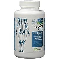 Tulcop Plus Polvo Colágeno con Magnesio, Ácido Hialurónico y Condroitina - 180 Capsulas