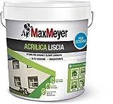 MaxMeyer 165027L580001 Esterno Pittura Acrilica Bianco 14 L