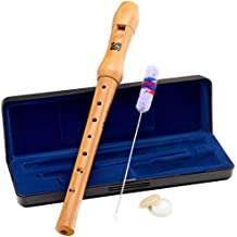 Classic Cantabile KI-100BA - Flauto dolce soprano in Do barocco, in legno (Cantabile Flauto)