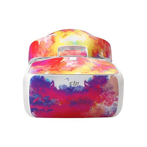 LaDicha Cool Bunte Wasserdichte Aufkleber Aufkleber Skin Cover Kit Für DJI Brille Rc Vr Brillen - 05 05 Brille