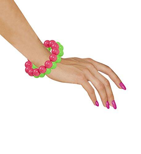 (Panelize 80er Jahre Set Neon Armband Schmuck 2er Set super Farben neonfarben)