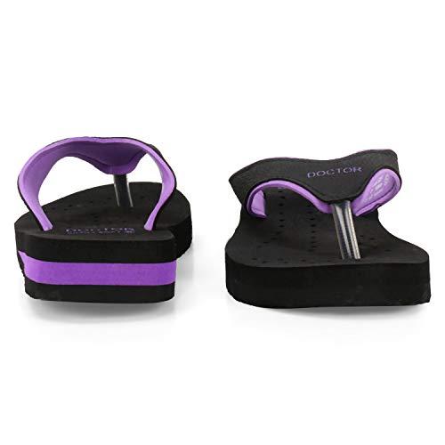 DOCTOR Women's Mesh Slippers, 5 IND/UK (purple38)
