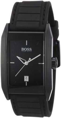 Hugo Boss - 1512482 - Gents Watch - Analogue Quartz - Black Dial - Black Rubber Strap