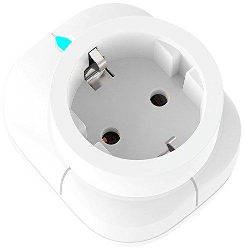 Domos EI-0 - Enchufe Inteligente Wi-Fi sirena medidor