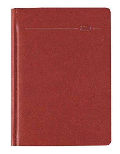 Buchkalender Tucson rot 2018 - Bürokalender A5
