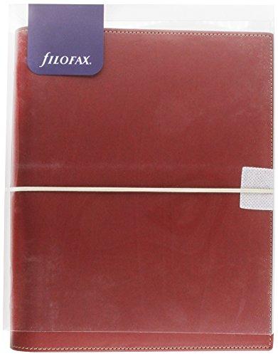 Filofax A5 Domino Red Organiser