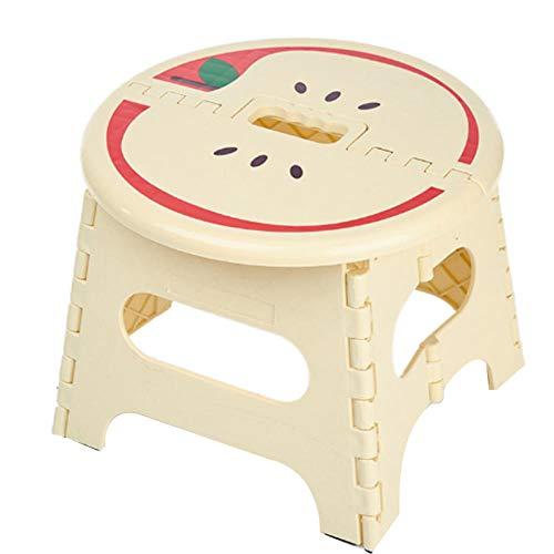 MOLUO Hocker Klappbare Plastikhocker Kinder Step Home Möbel für Kinder sitzen Picknick Kinderhocker