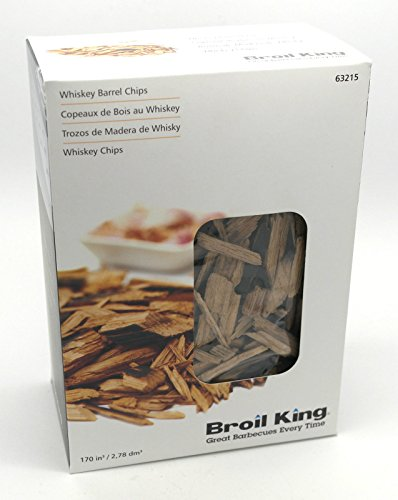 Broil King Quality Whiskey Barrel Smoker Wood Chips (63215)