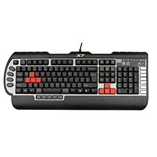 A4 Tech X7 G800V Gaming Keyboard with Macro Programmable Keys