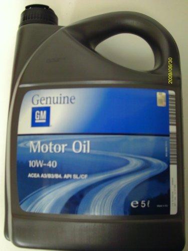 GENUINE GM OPEL MOTOR OIL 10W-40 5L