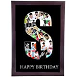 12in x 18in a to z personalized photo collage letter collage alphabetany letter