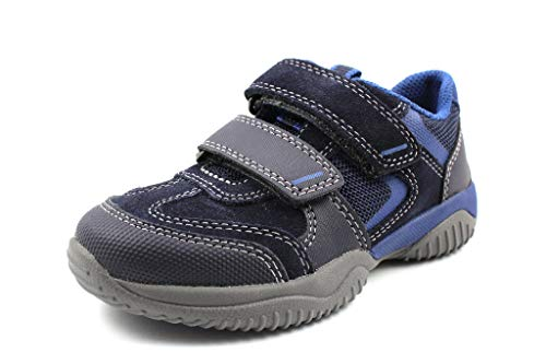 Superfit Jungen Storm Sneaker, Blau 81, 39 EU