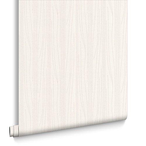 Preisvergleich Produktbild Superfresco Strulturiert lackierbar Tapete für Wohnzmmer Weiß 19784