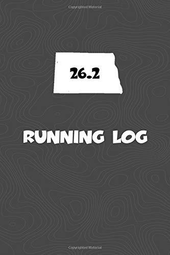 Running Log: Blank Lined Journal for anyone that loves North Dakota, running, marathons!