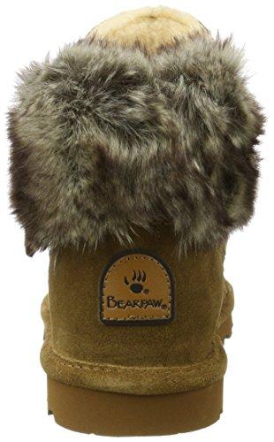 Bearpaw Koko, Stivali Arricciati Donna Braun (Hickory Ii 220)