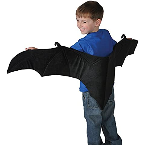 Rinco Products Vampire Bat Plush Costume Wings by Rhode Island Novelty - Rhode Island Costume