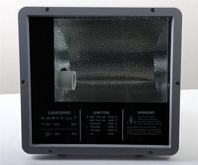 HQI Strahler TJW3 400 W, asymmetrisch silber OHNE Leuchtmittel