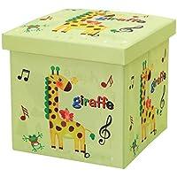 Chang Xiang Ya Shop Hocker Aufbewahrungsschemel Oxford Tuch Cartoon Kinder Spielzeug Aufbewahrungsbox Kann Erwachsenen Lagerung Hocker 30 * 30cm Faltbare Schuhbank sitzen