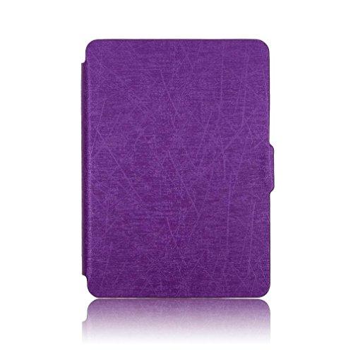 Clode® Clode-tablet case-T03 Tablet-Schutzhülle, Kindle Paperwhite, violett, Stück: 1 (Zoll Kinder Tasche Tablet Für 6)