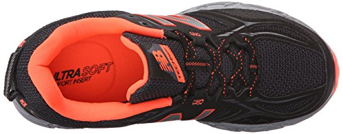 New Balance Women's WT510V3 Trail Shoe, Black/Dragonfly, 10 B US Black/Dragonfly