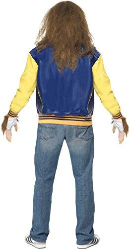 Imagen de smiffy's  disfraz de hombre lobo adultos, talla l 35047l  alternativa