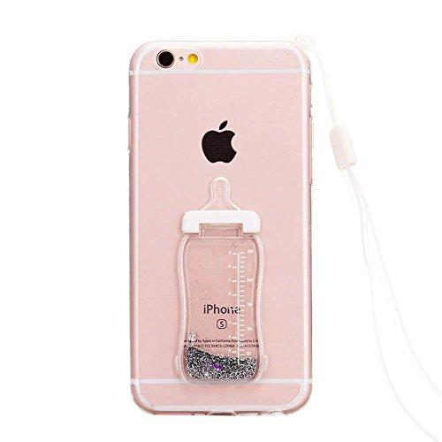 iPhone 5S SE silicone Coque,iPhone 5S SE TPU Coque Soft Case Cover,Vandot Paysage Creative Painting Peinture Housse de téléphone pour iPhone 5S SE Silicone modèle Cas pour iPhone 5S SE TPU Doux Silico biberon-1