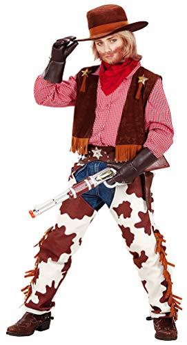 Cowboy Chaps Weste Kind Kostüm - Karneval-Klamotten Cowboy Kostüm Kinder Cowboy Weste