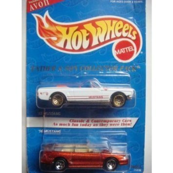 Hot Wheels Avon 1995 Exclusive Collection Father & Son Mustang