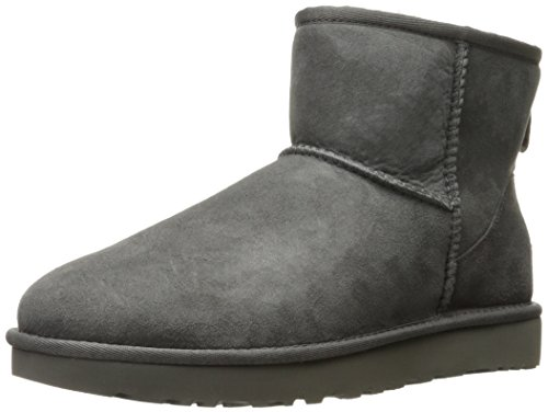 UGG Damen Mini Classic Hohe Sneakers Grau (Grey)