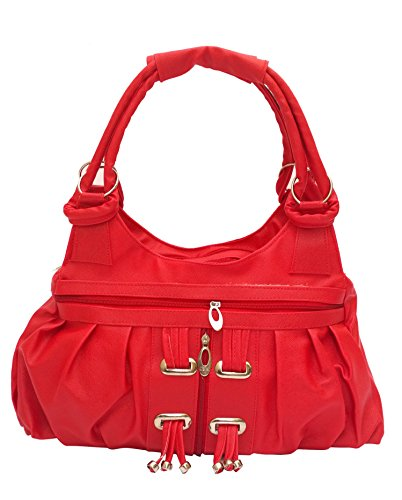 Vintage Women's Handbag(Red,Bag 120)  available at amazon for Rs.335