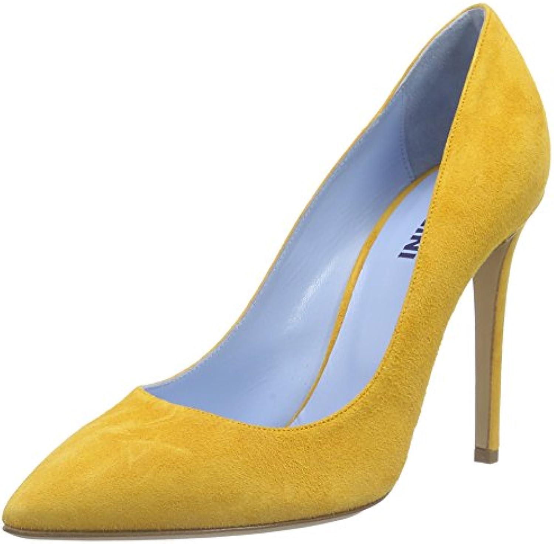 Pollini Scarpad.princess105 Camosc.OCRA, Zapatos de Baile Salón para Mujer