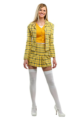 Women's Clueless Cher Womens Fancy Dress - five sizes